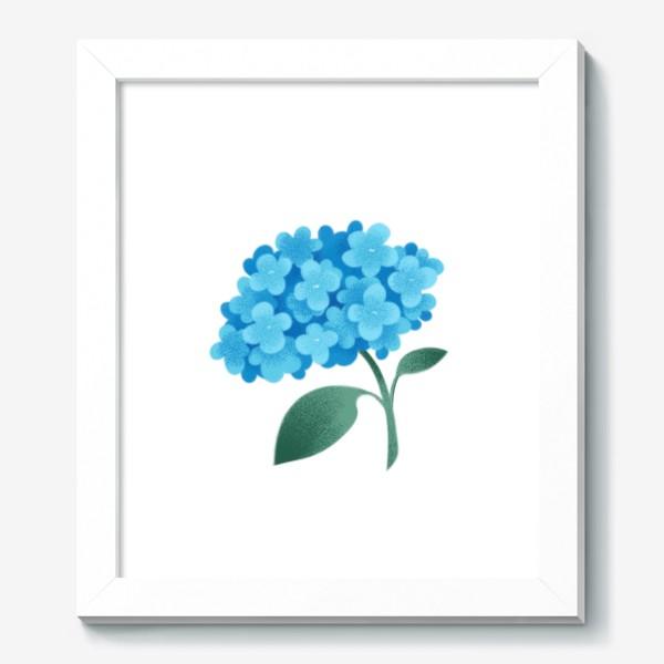 Картина «Цветок плюмбаго»