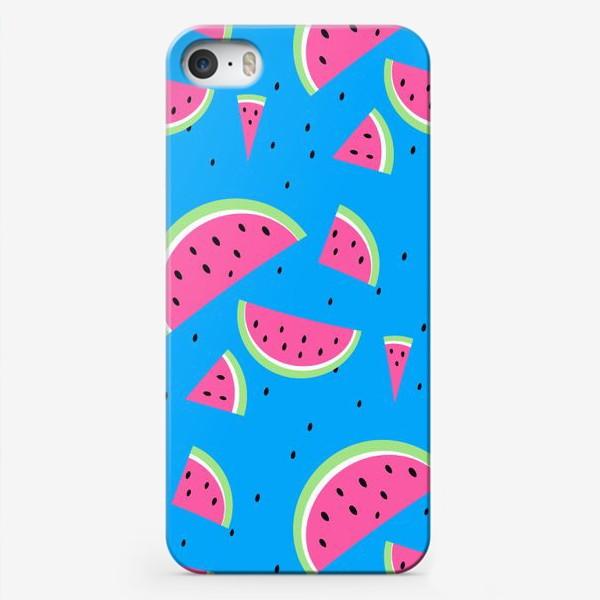 Чехол iPhone «Арбузы»