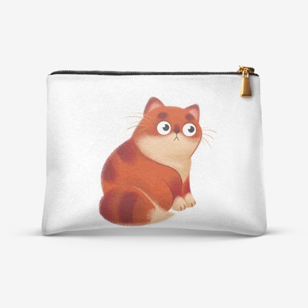 Косметичка «рыжий котенок»