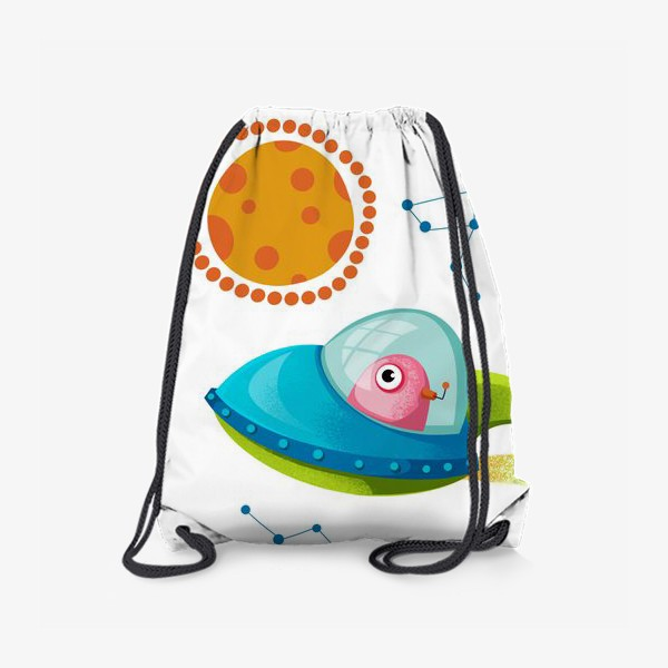 Рюкзак «нло и планета Марс»