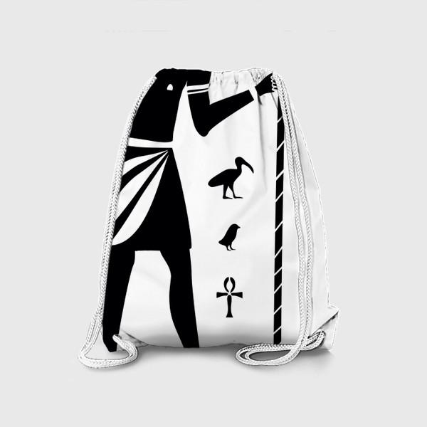 Рюкзак «Бог Тот. Древний Египет.»