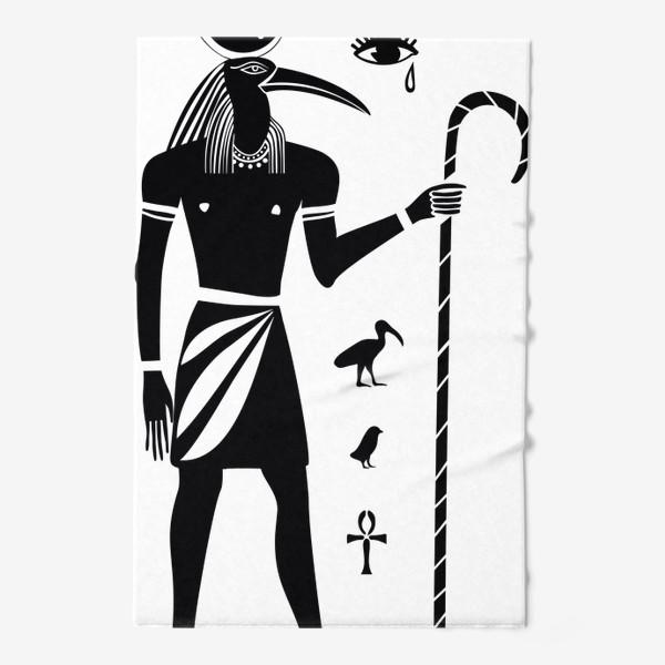 Полотенце «Бог Тот. Древний Египет.»
