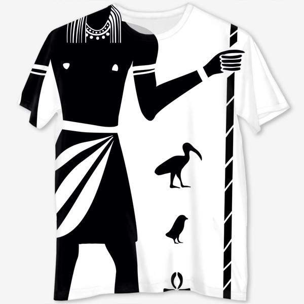 Футболка с полной запечаткой «Бог Тот. Древний Египет.»