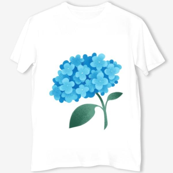 Футболка «Цветок плюмбаго»