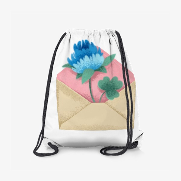 Рюкзак «Конверт с цветком»