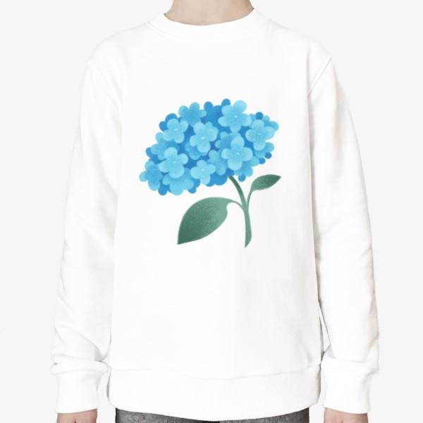 Свитшот «Цветок плюмбаго»