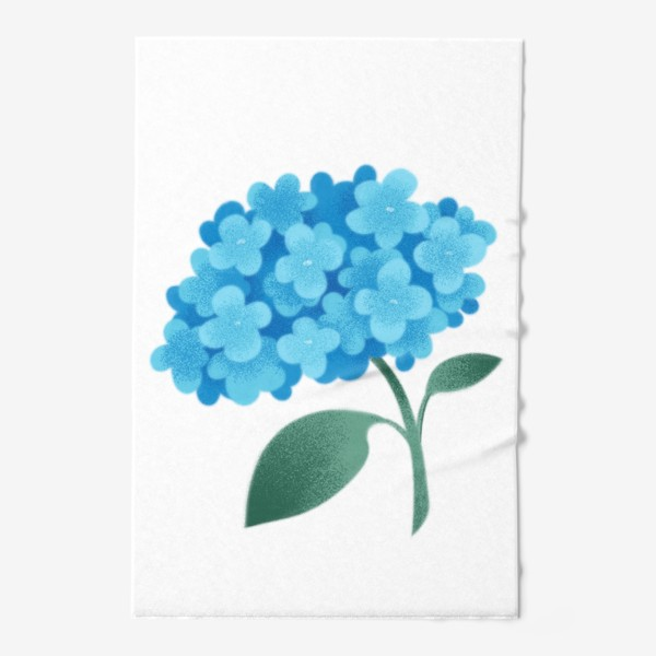 Полотенце «Цветок плюмбаго»