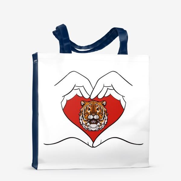 Сумка-шоппер «Спаси амурского тигра »