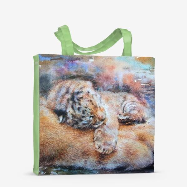 Сумка-шоппер «Тигренок, тигр»