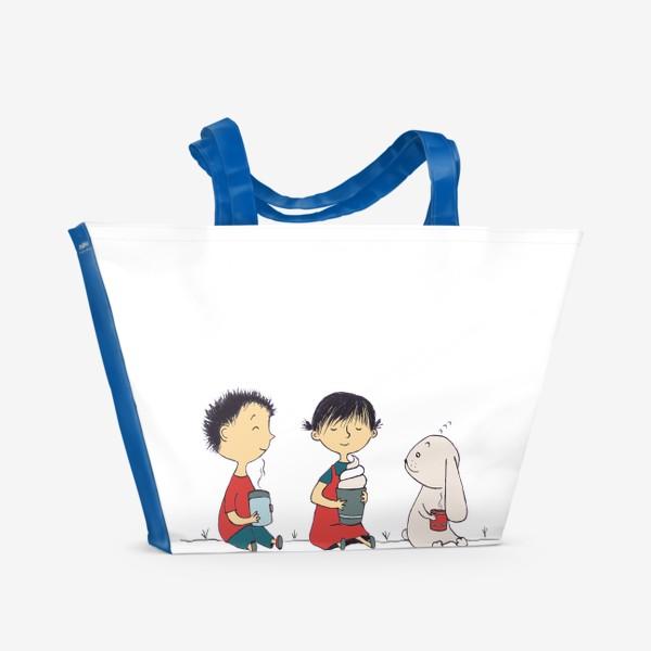 Пляжная сумка «Зайка»