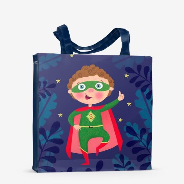 Сумка-шоппер «Супергерой»
