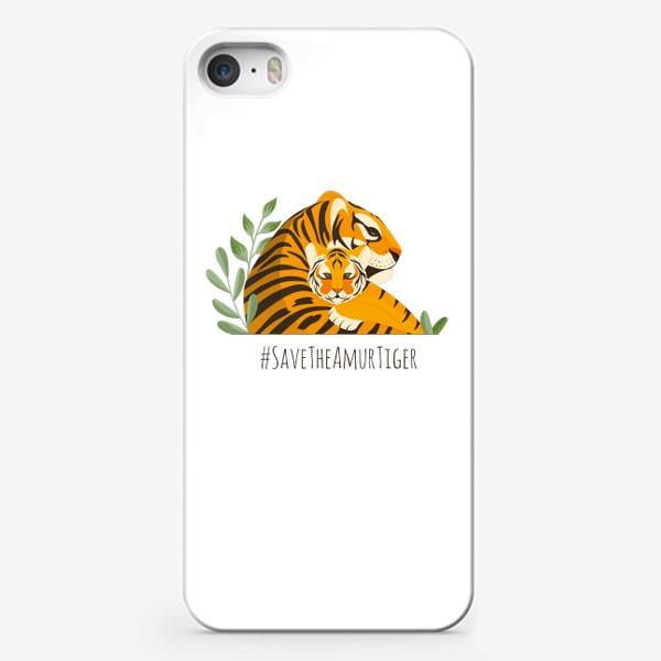 Чехол iPhone «Тигры»