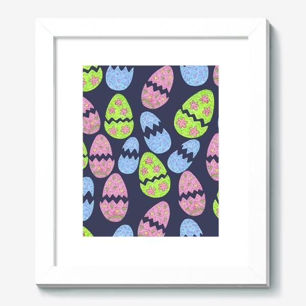 Картина «Узор с пасхальными яйцами»