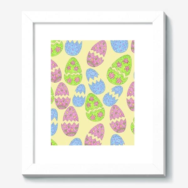 Картина «Пасхальные яйца узор»