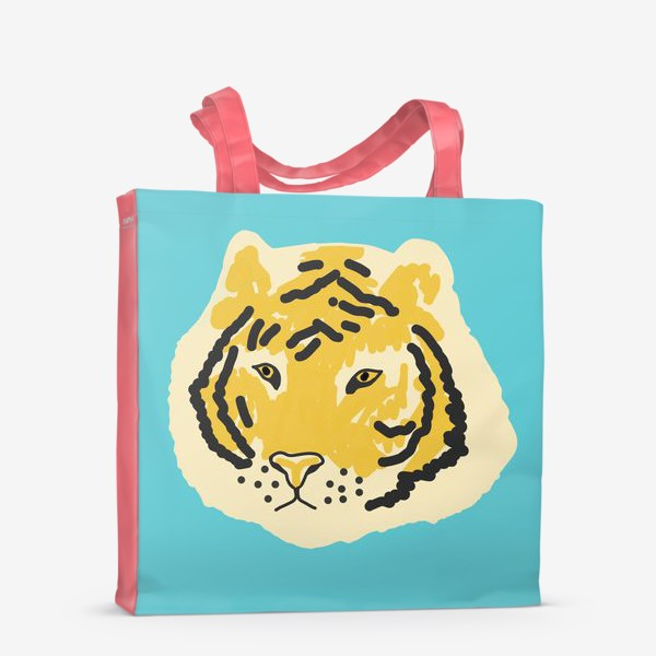 Сумка-шоппер «тигр »