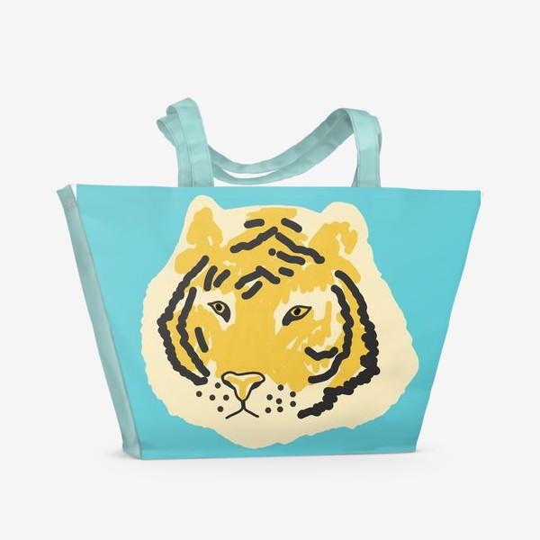 Пляжная сумка «тигр »