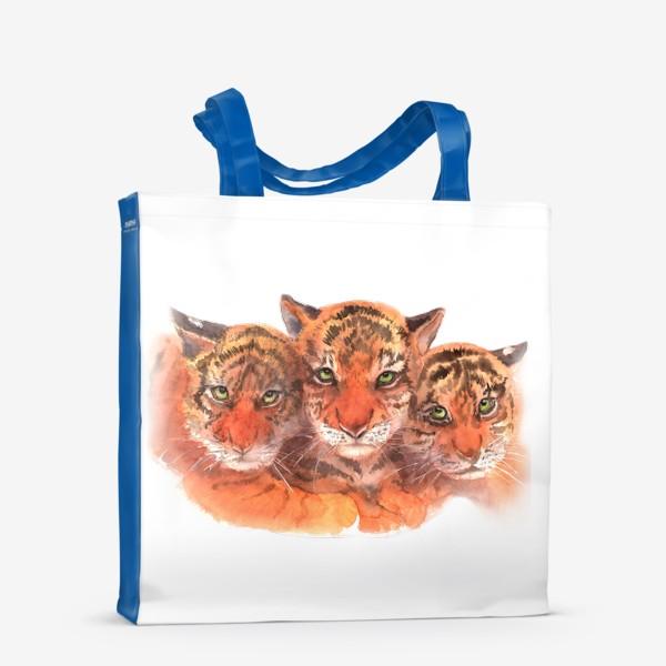 Сумка-шоппер «Тигрята»