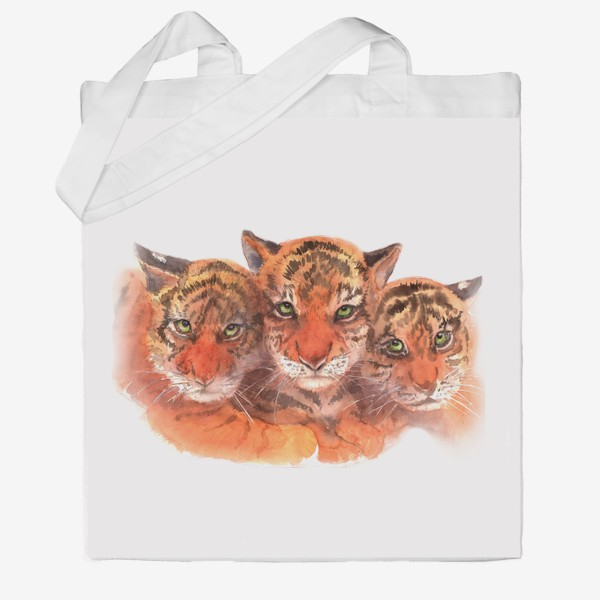Сумка хб «Тигрята»