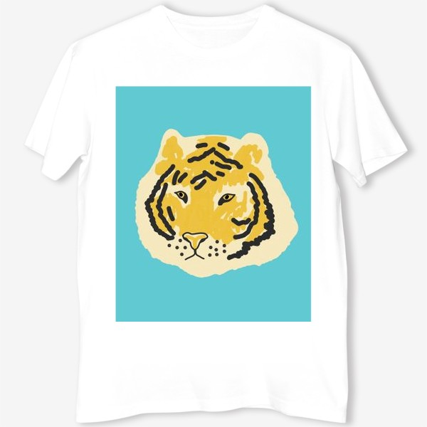 Футболка «тигр »