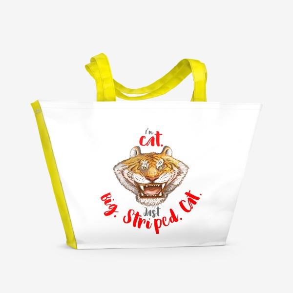 Пляжная сумка «Тигр Big Cat»