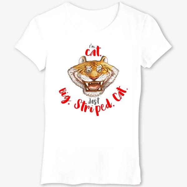 Футболка «Тигр Big Cat»