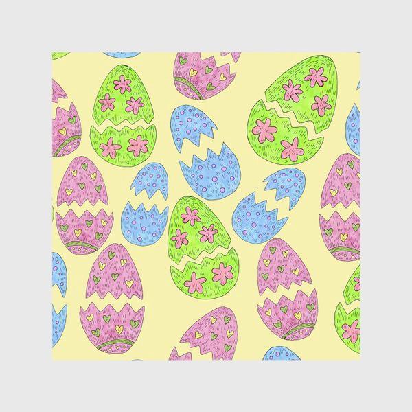 Шторы «Пасхальные яйца узор»