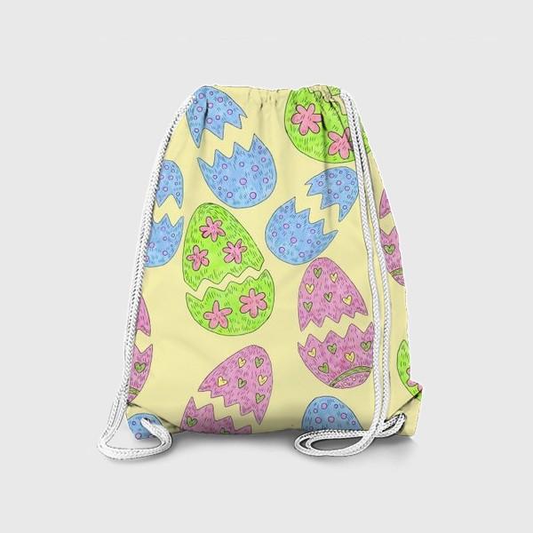 Рюкзак «Пасхальные яйца узор»