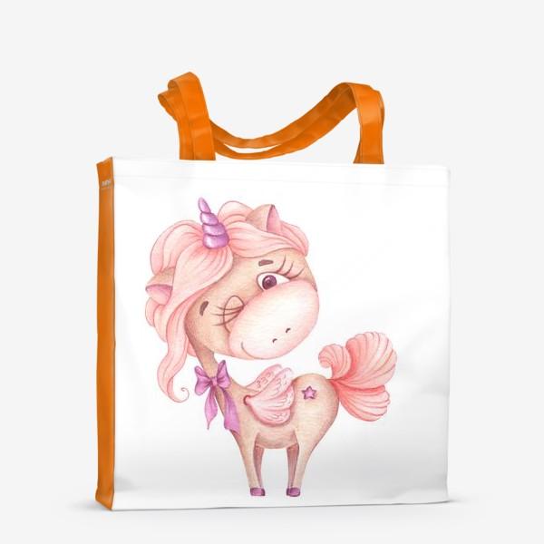 Сумка-шоппер «Розовая Единорожка»