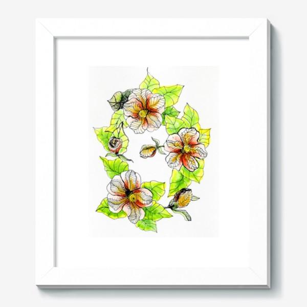 Картина «Цветочный хоровод»