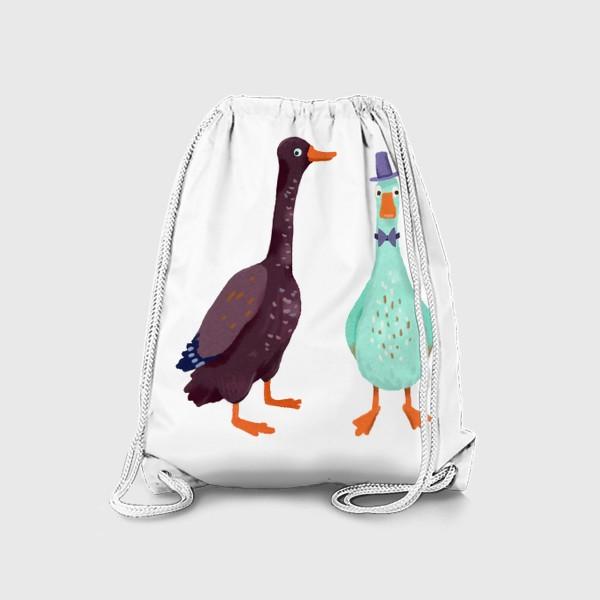 Рюкзак «Два гуся»