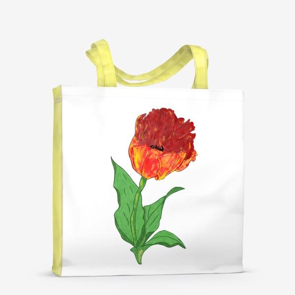 Сумка-шоппер «Тюльпан»