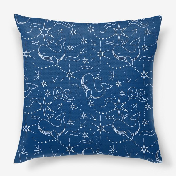 Подушка «Космические киты»