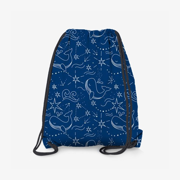 Рюкзак «Космические киты»