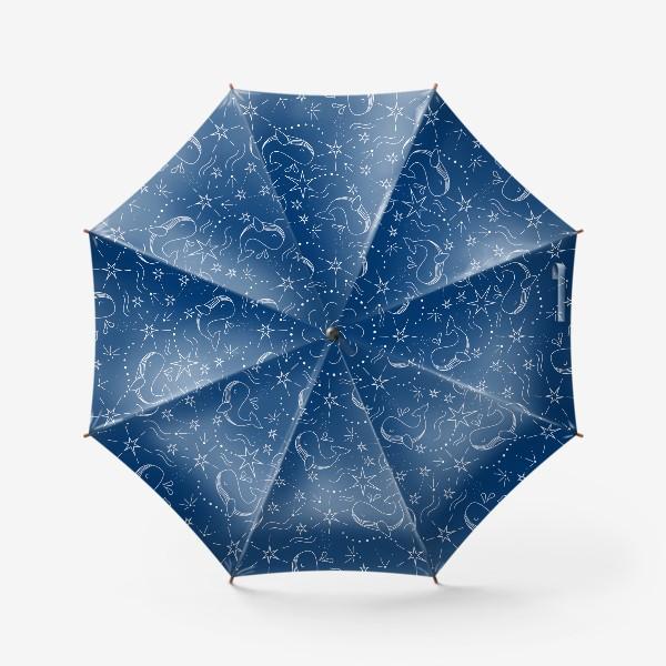 Зонт «Космические киты»