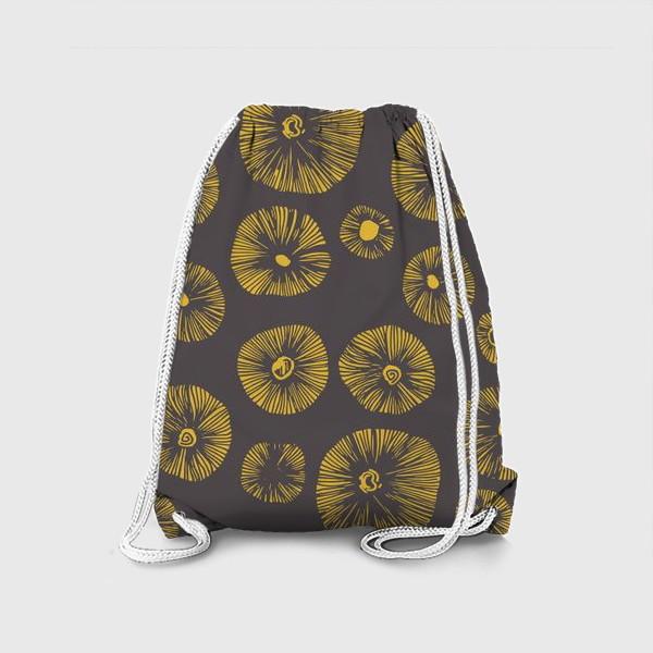 Рюкзак «Грибные шляпки»