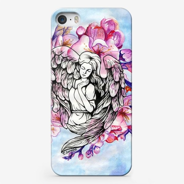 Чехол iPhone «Ангел и небо»