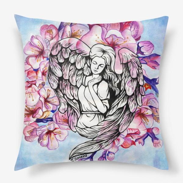 Подушка «Ангел и небо»