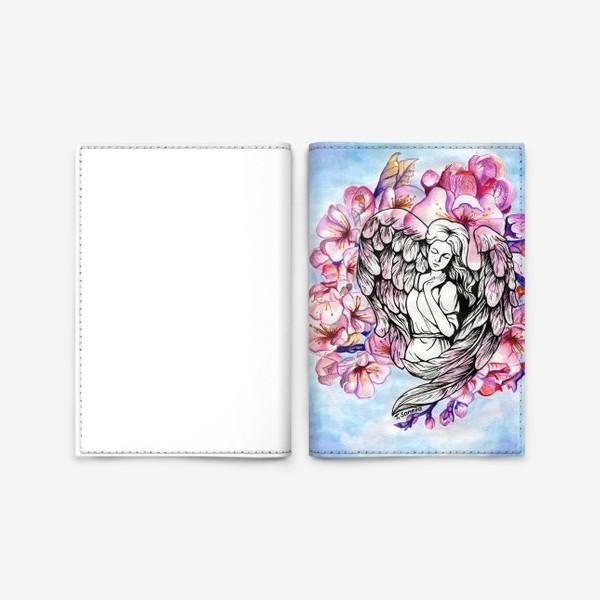 Обложка для паспорта «Ангел и небо»