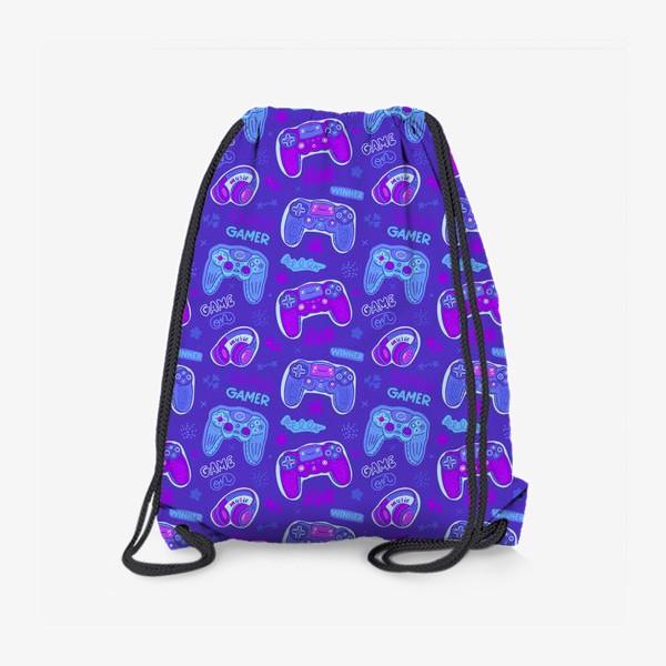 Рюкзак «Милый паттерн с джойстиками»