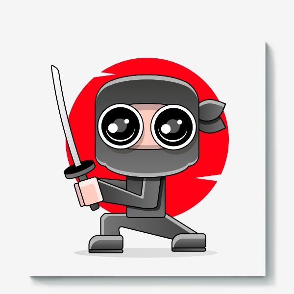 Холст «Ninja »