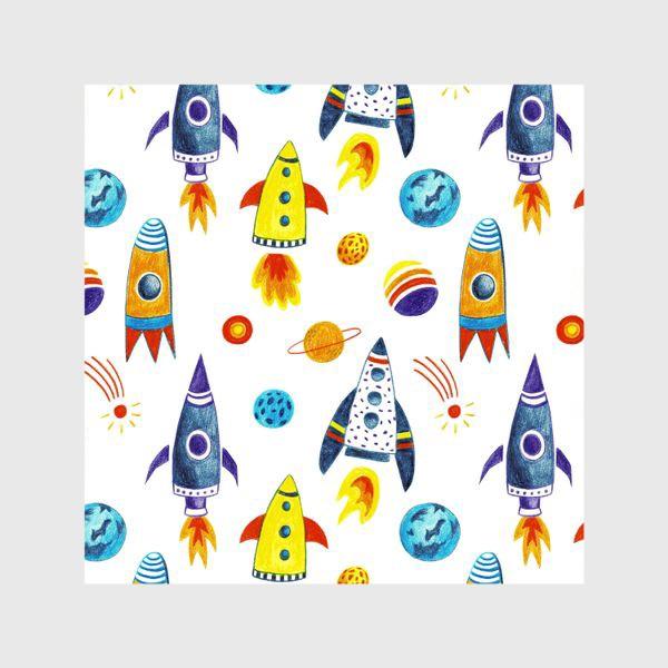 Шторы «День космонавтики»
