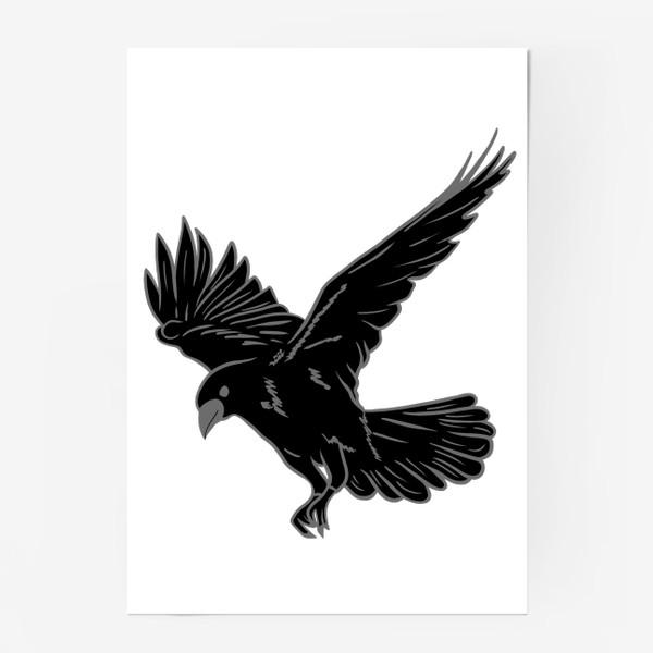 Постер «Черная ворона»