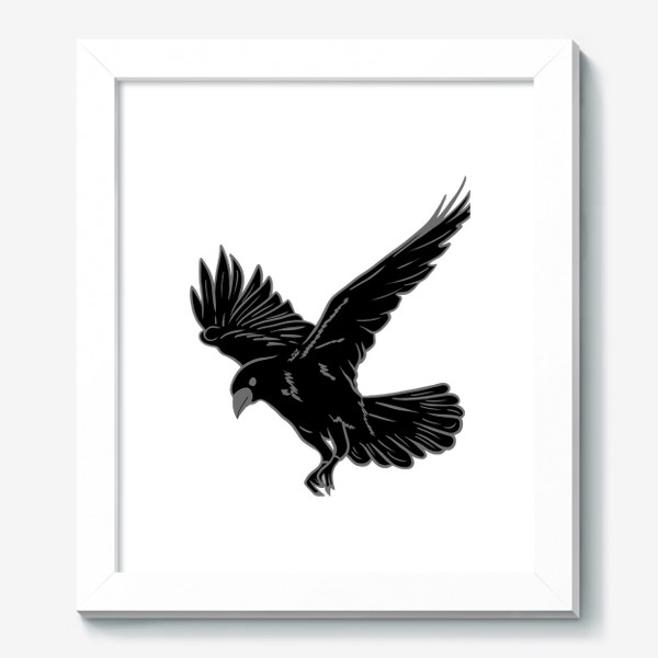 Картина «Черная ворона»