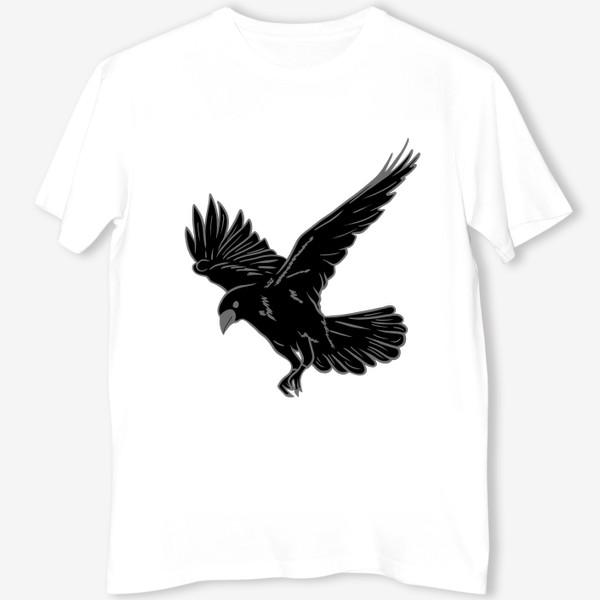 Футболка «Черная ворона»