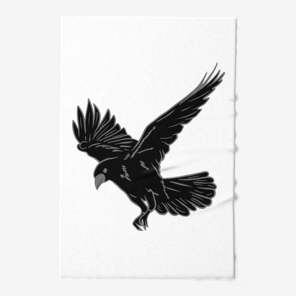 Полотенце «Черная ворона»