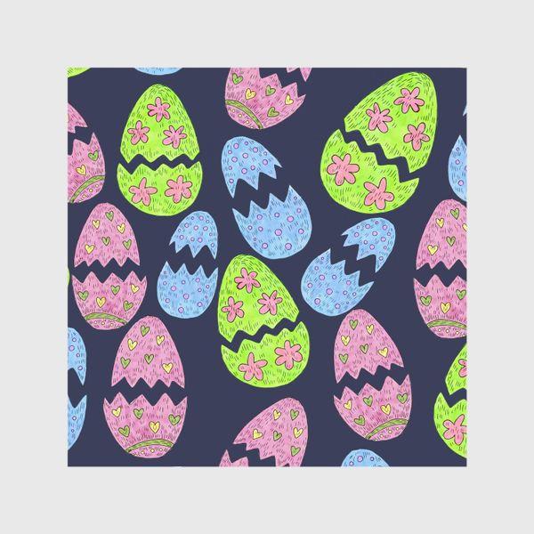 Шторы «Узор с пасхальными яйцами»