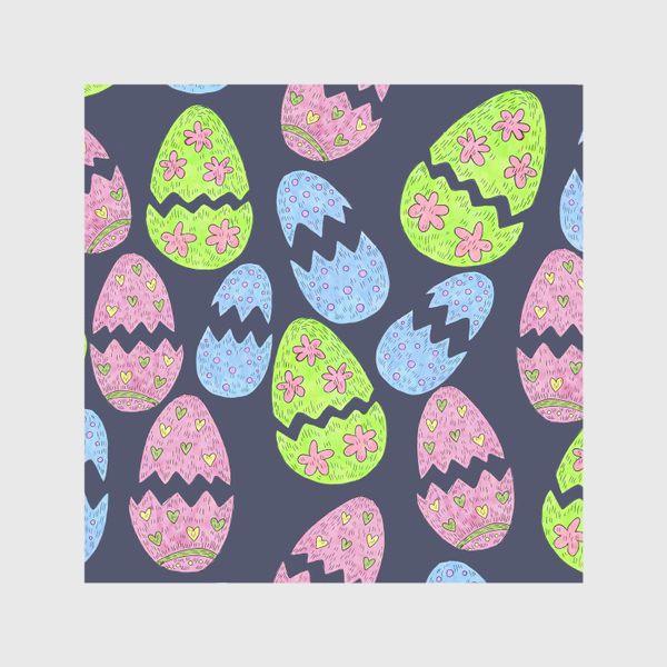 Скатерть «Узор с пасхальными яйцами»
