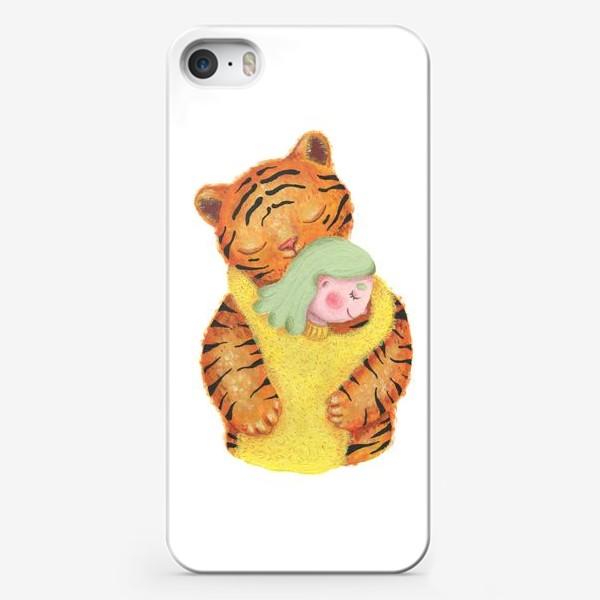 Чехол iPhone «Год тигра. Новый год 2022. Подарок на новый год девушке, ребенку, любимому человеку, маме»