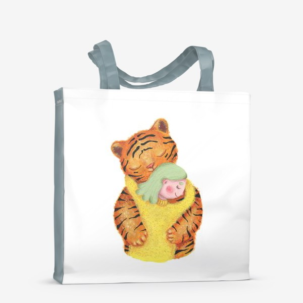 Сумка-шоппер «Год тигра. Новый год 2022. Подарок на новый год девушке, ребенку, любимому человеку, маме»