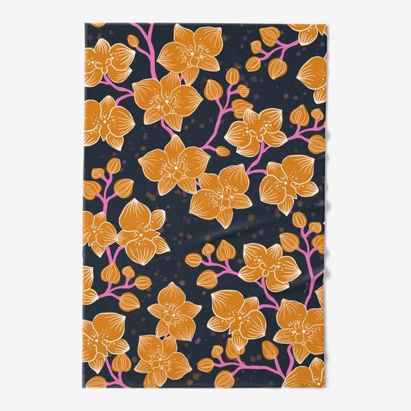 Полотенце «Орхидея»